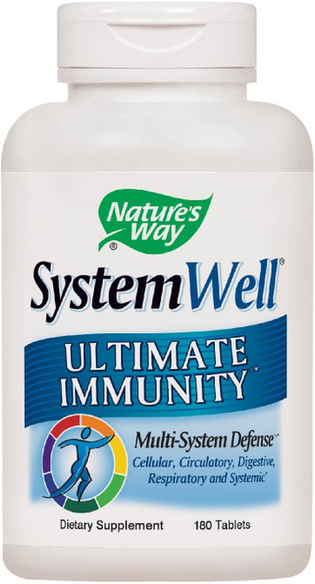 Nature's Way Systemwell Ultimate Immunity Multi-System Defense 180 tabs