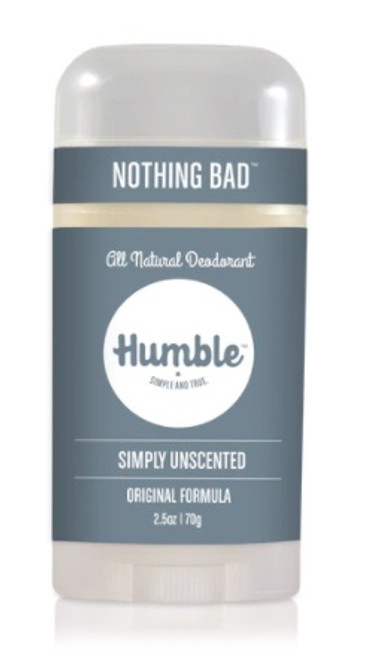 Humble Simply Unscented 2.5 oz