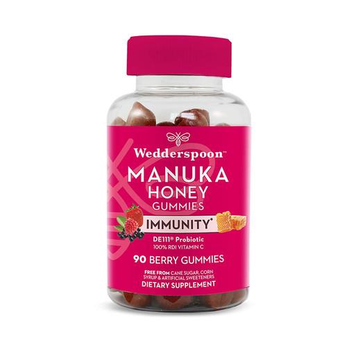 Wedderspoon Manuka Honey Berry 90 Gummies