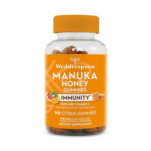Wedderspoon Manuka Honey Citrus 90 Gummies