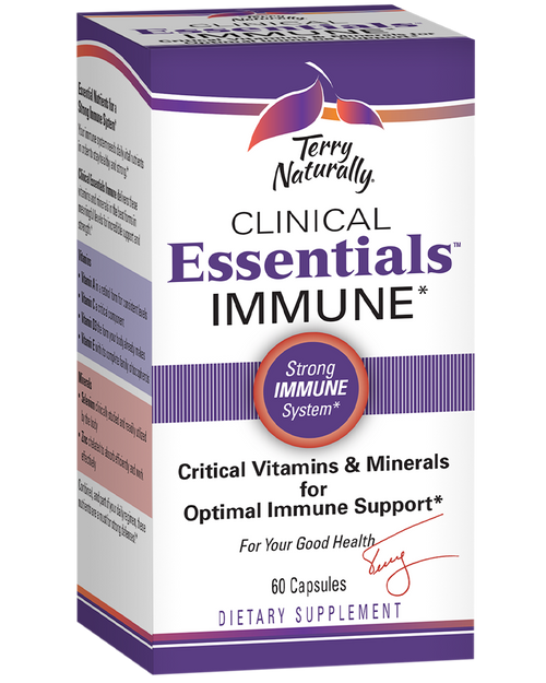 Terry Naturally Clinical Essentials Immune 60 chewable tabs