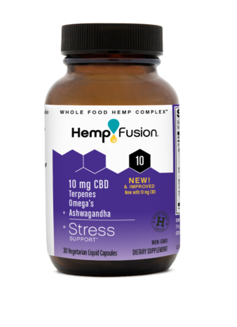 HempFusion 10 Stress Support 30 caps