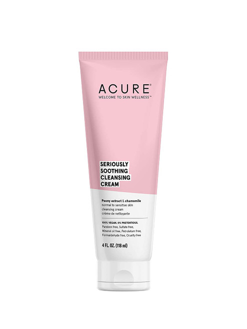 Acure Seriously Soothing Cleansing Cream 4 oz