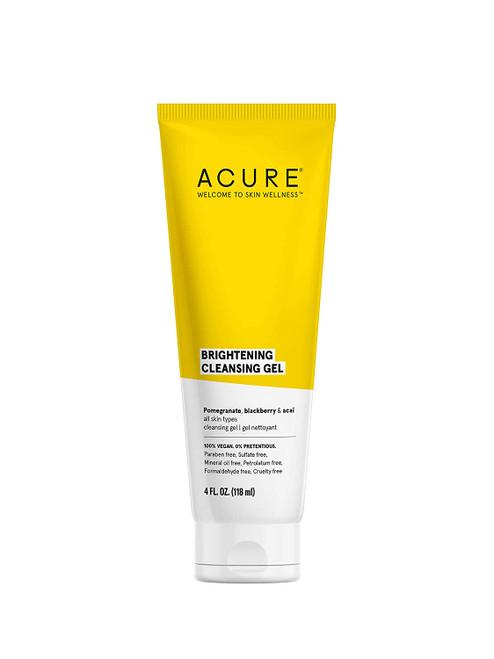 Acure Brightening Cleansing Gel 4 oz