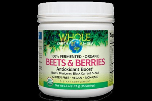 Whole Earth & Sea Beets & Berries Antioxidant Boost 6.6 oz