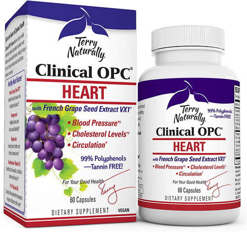EuroPharma Clinical Heart OPC - 60 Caps