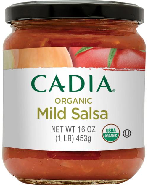 Cadia Organic Mild Salsa 16 oz