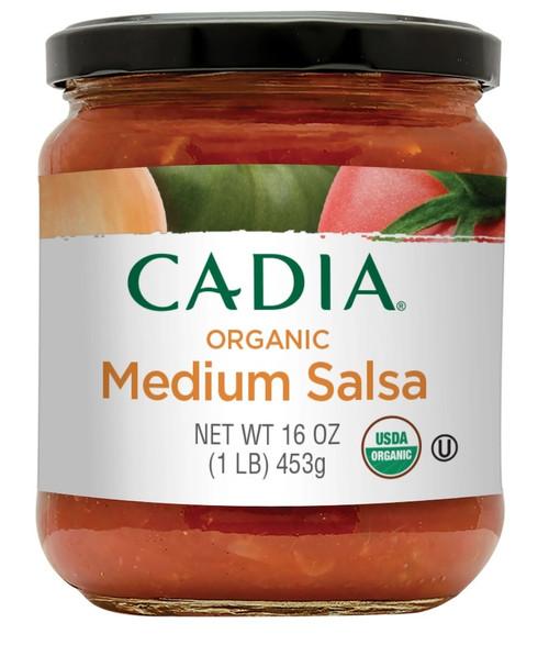 Cadia Organic Medium Salsa 16 oz
