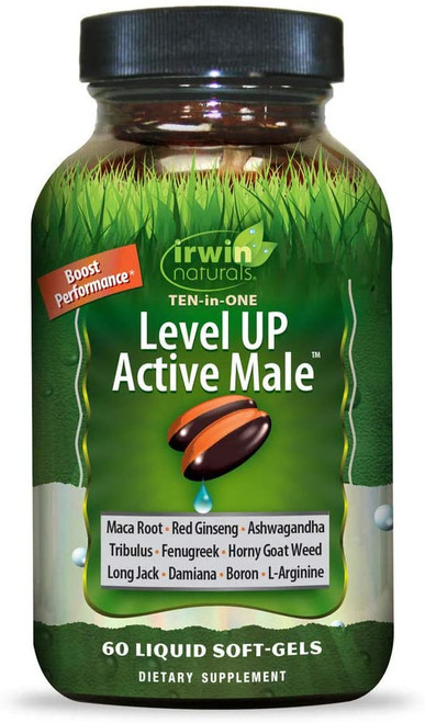 Irwin Naturals Level UP Active Male 60 SG