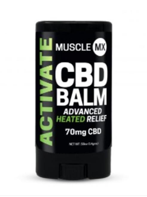 Muscle MX Activate CBD Balm 70 mg 0.5 oz