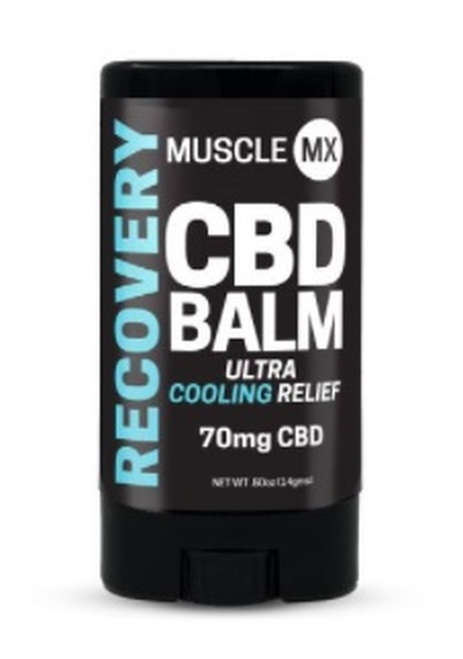 Muscle MX Recovery CBD Balm 70 mg 0.5 oz