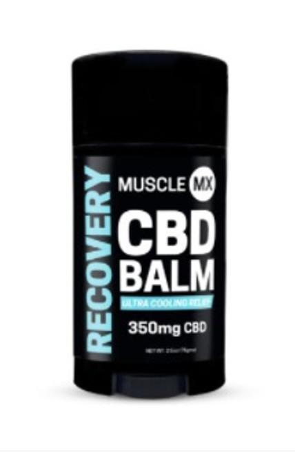 Muscle MX Recovery CBD Balm 350 mg 2.5 oz