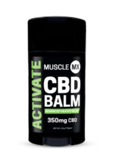 Muscle MX Activate CBD Balm 350 mg 2.5 oz