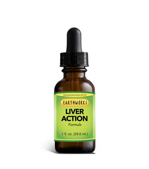 Master Formula - Liver Action 1 oz by Dave Hawkins' EarthWorks