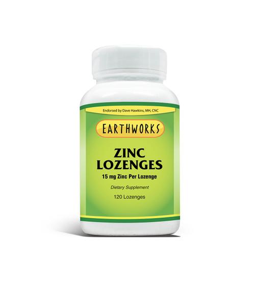 Zinc Lozenge by Dave Hawkins' EarthWorks (Limit 1 per Customer)