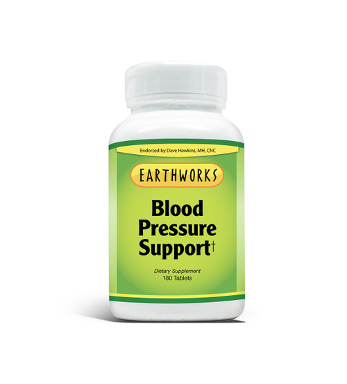 Blood Pressure Support 180 by Dave Hawkins' EarthWorks