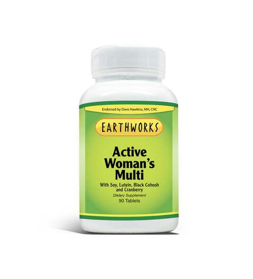 Active Woman's Mutiple Vitamins by Dave Hawkins' EarthWorks
