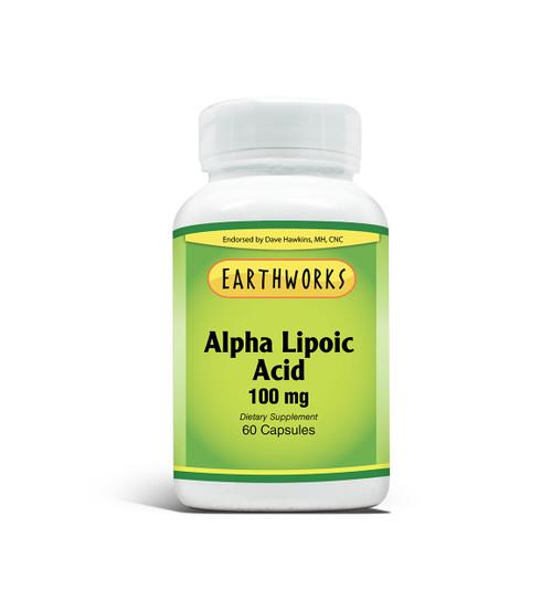 Alpha Lipoic Acid 100 60 Cap by Dave Hawkins' EarthWorks