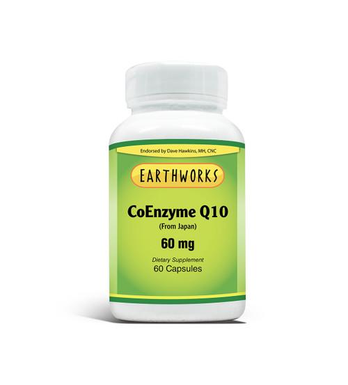 CO Q 10 60 mg 60 Cap by Dave Hawkins' EarthWorks