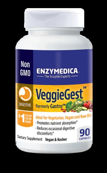 Enzymedica Veggiegest (Gastro) 90 caps