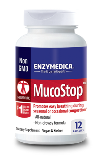 Mucostop 48 By Enzymedica