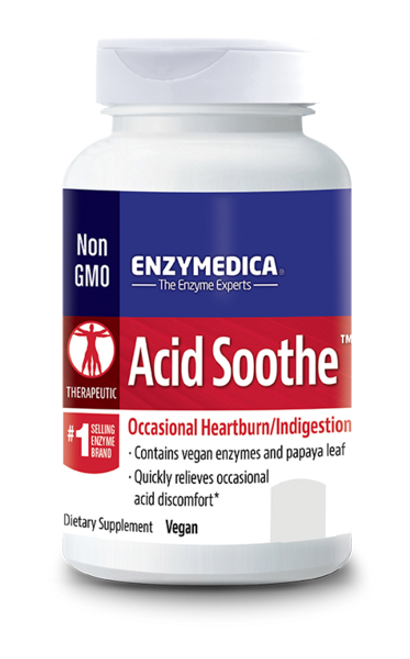 Acid Soothe 90 By Enzymedica