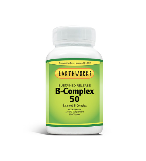 B-Complex 50 S/R Tabs 250 by Dave Hawkins' EarthWorks