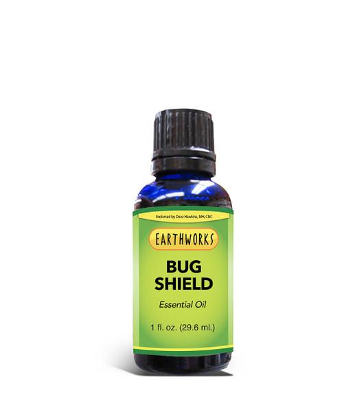 Dave Hawkins' EarthWorks PL Bug Shield Essential Oil 1 oz