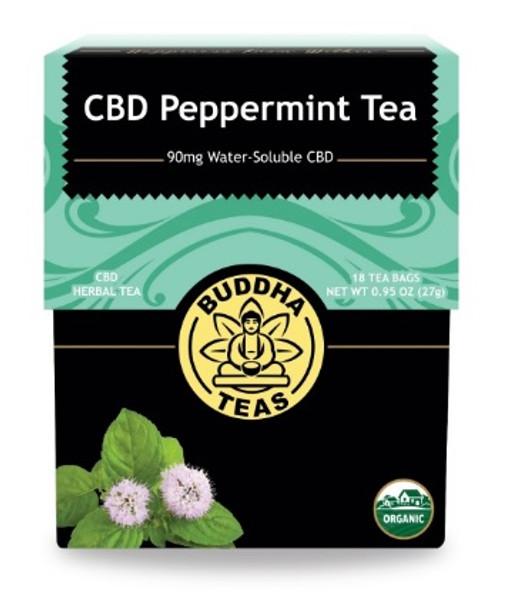 Buddha Teas CBD Peppermint Tea