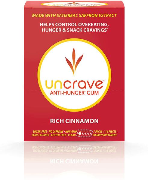 UnCrave Anti-Hunger Gum - Rich Cinnamon