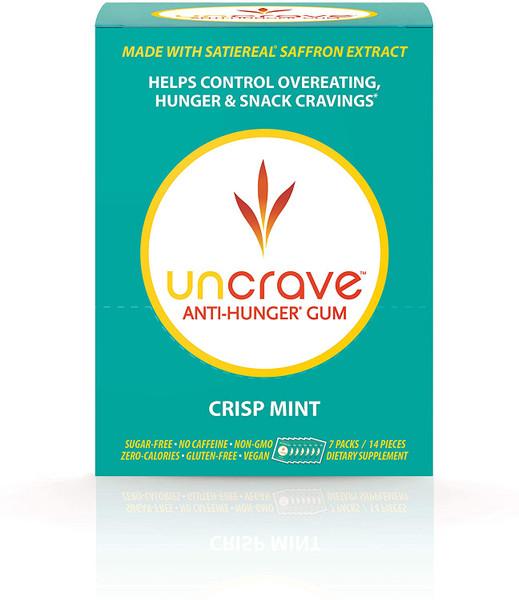 UnCrave Anti-Hunger Gum - Crisp Mint