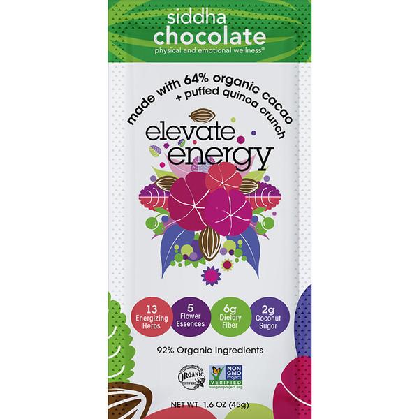 Siddha Chocolate Elevate Energy 1.6 oz