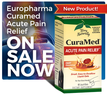 Terry Naturally CuraMed Acute Pain Relief 60 sg