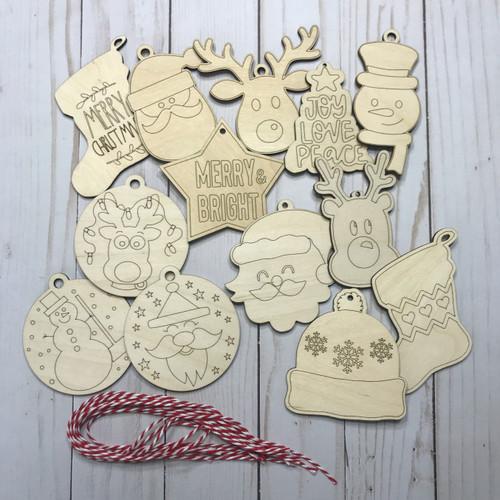 Kids Ornament Set