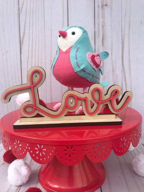 Love Desk/Shelf Sitter