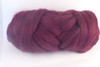 Coonawarra--Burgundy with a touch of pink.  18.5 micron Merino Wool Tops.