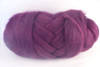 "Aubergine --French for ""eggplant""... can we say more?.  18.5 micron Merino Wool Tops."