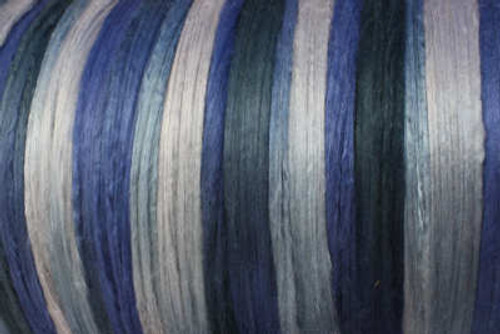 Bombyx silk tops for feltmakers. This dyed color harmony is Thunderstorms