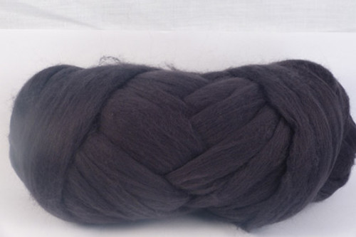 Charcoal--Not quite black, but nice and smokey.  18.5 micron Merino Wool Tops.