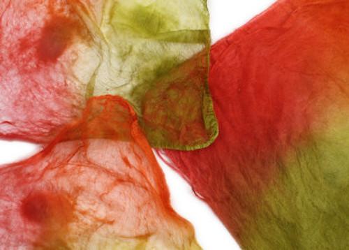 Silk hankies. This color harmony is Mumbai