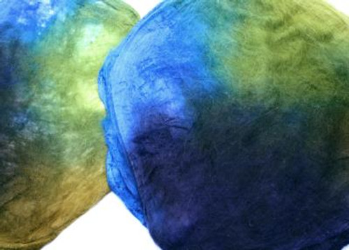 Silk hankies. This color harmony is Sea Grass