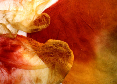 Silk hankies. This color harmony is Spice Market