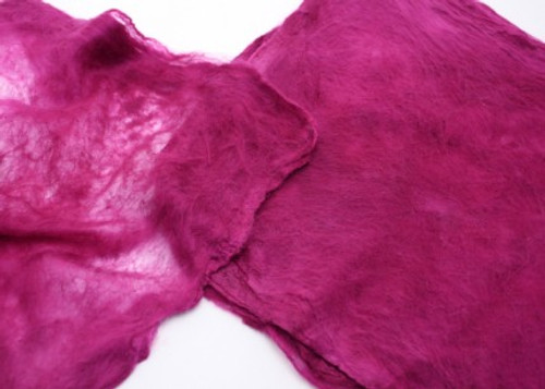 Silk hankies. This solid color is Lilly Pilly