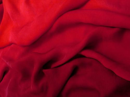 Silk gauze fabric in Heartache