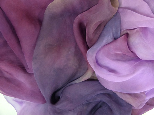 Silk gauze fabric. Open weave, lightweight,  gauzy.