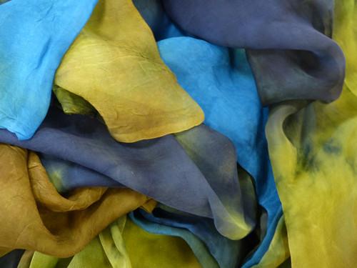 Silk gauze fabric. Open weave, lightweight,  gauzy.
