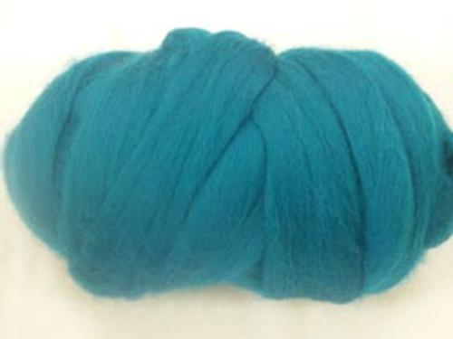 Emerald--Jewel tone green.  18.5 micron Merino Wool Tops.