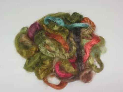 Silk Grab Bag in Leafy tones