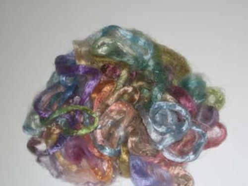 Silk Grab Bag in Pastel tones