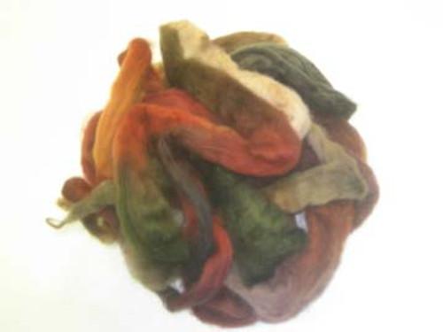Wool Grab Bag in Earthy tones